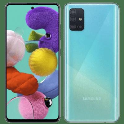 Samsung Galaxy A51 turquesa