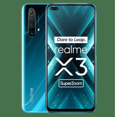 Realme X3 azul