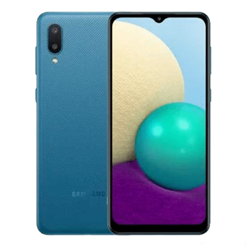 Samsung Galaxy A02 azul
